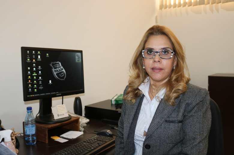 Delegada Adjunta da 6ª SDP, Araci Carmen Costa Vargas