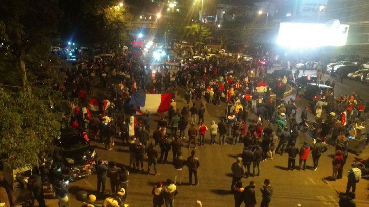 Manifestação Paraguai