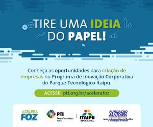 Programa de Inovação Corporativa do Parque Tecnológico de Itaipu