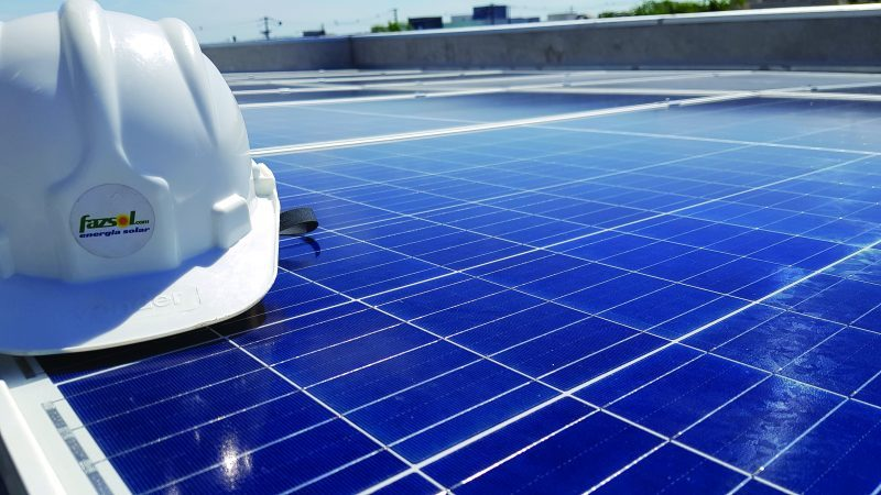 painel solar da fazsol