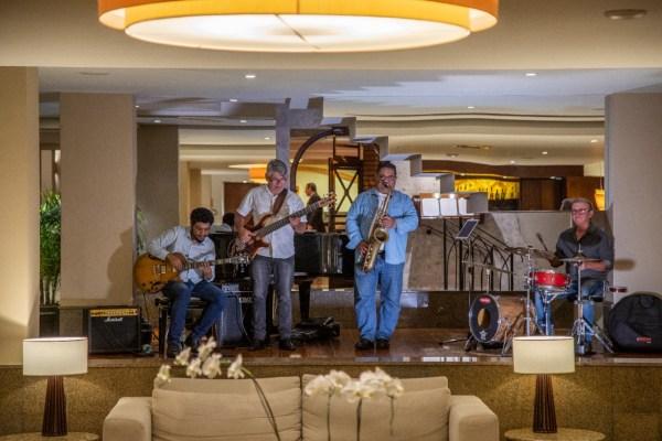 Noite do Jazz Hotel Bourbon