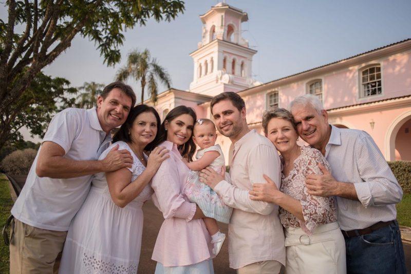 Nayara e familia no Belmond