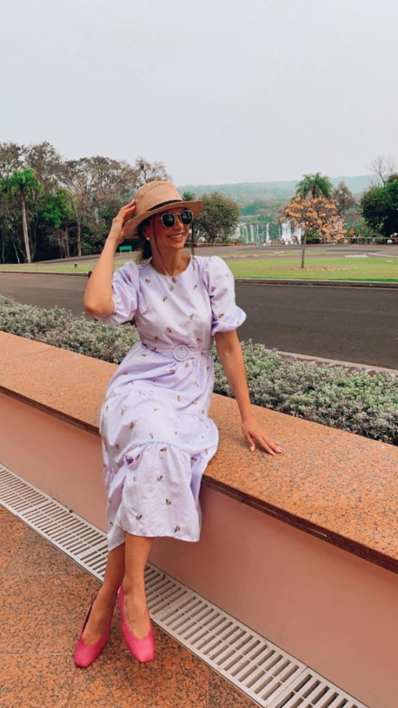 Nayara Radaelli Parzianello no Belmond Hotel das Cataratas