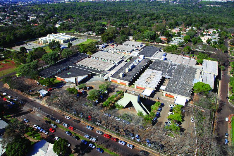 Vista aérea do HMCC