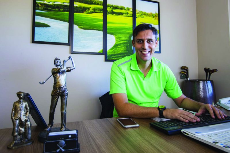 Miguel Palhota golfe brasil