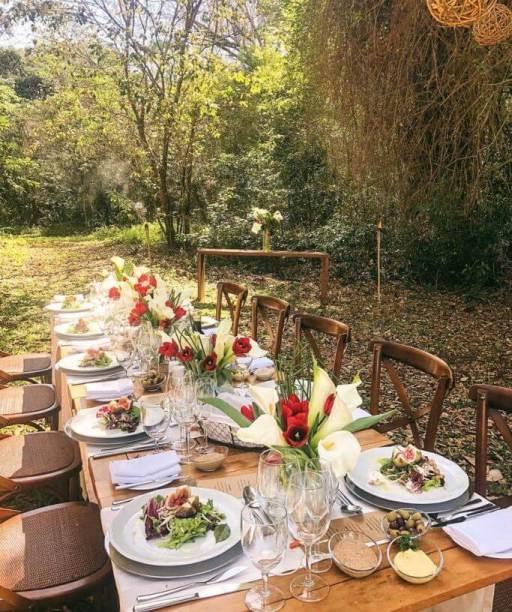 Almoço no Jardim Secreto - Wish Foz do Iguaçu