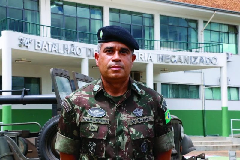Tenente-coronel Georgingtown Haullinson Farias