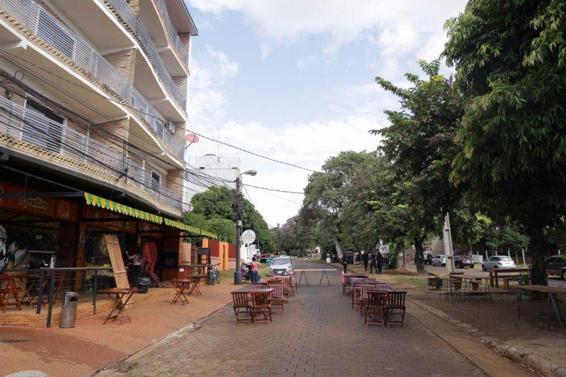Ruas gastronômicas CDE