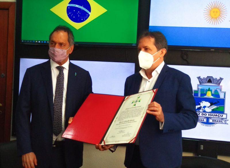 embaixador da Argetina, Daniel Scioli