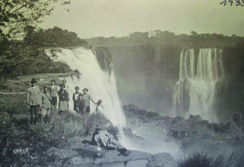 Cataratas do Iguaçu foto antiga