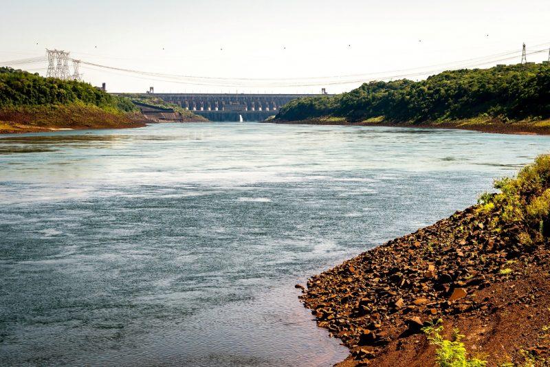 escassez rio paraná estiagem
