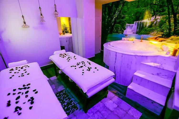 Spa relaxante no hotel Vivaz Cataratas em Foz do Iguacu