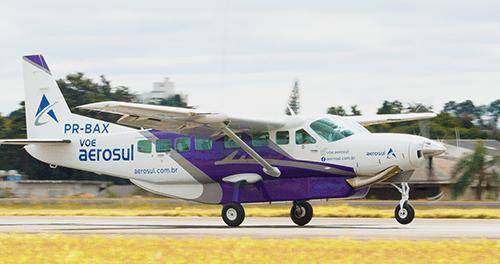 Companhia aérea Aerosul voos para Foz