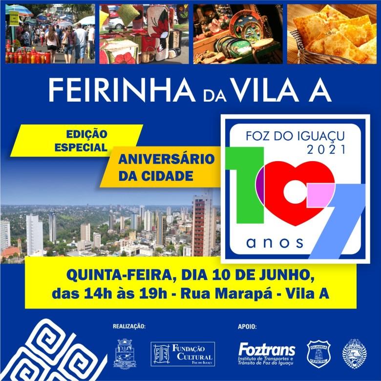 Edição especial Feirinha Vila A
