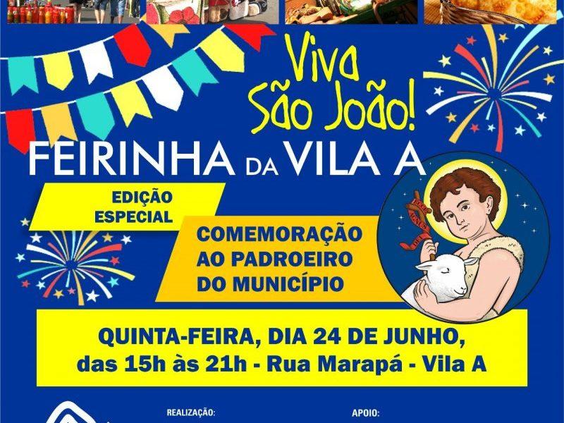 Feirinha Vila A especial São Jõao