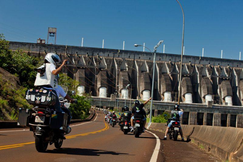 Encontro deve reunir motocicletas na Usina de Itaipu