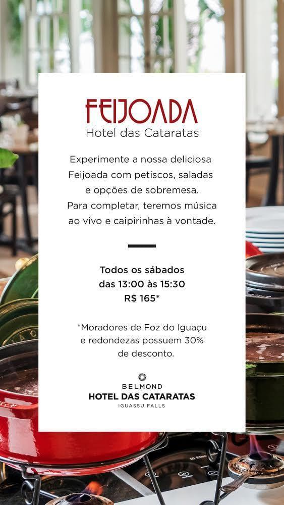 Feijoada Hotel das Cataratas, a Belmond