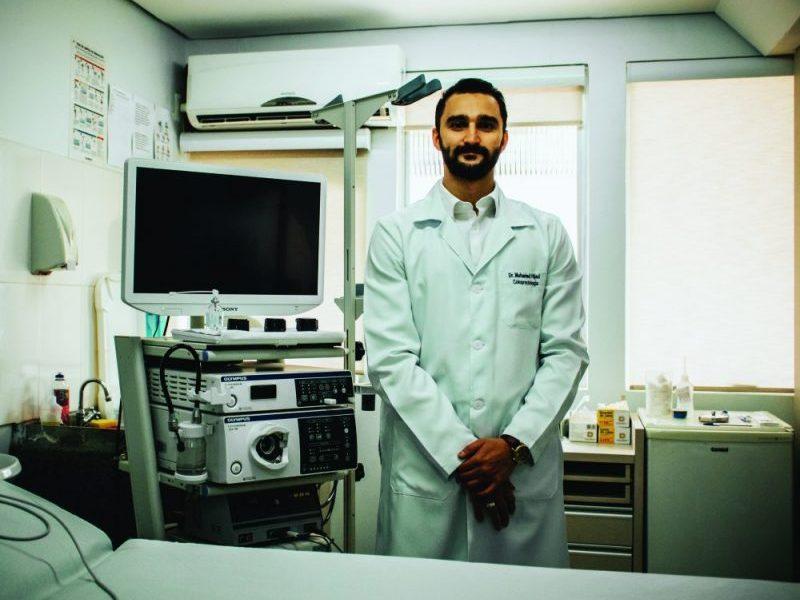 Dr. Hijazi - médico coloproctologista