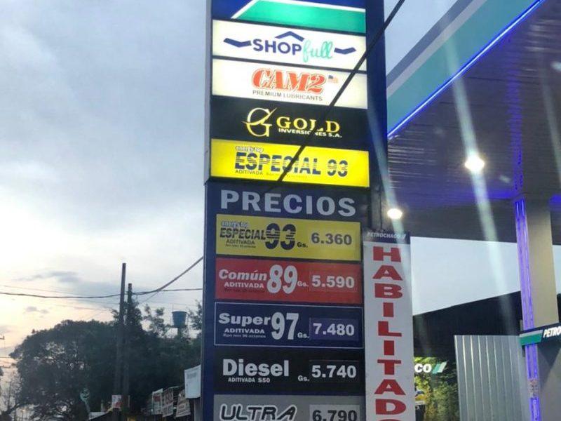 Posto de combustível Ciudad del Este