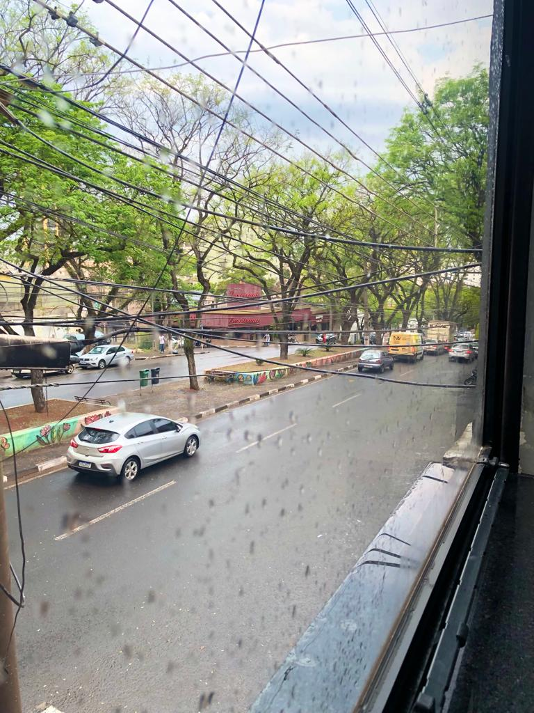 Vista da janela da redação da 100fronteiras