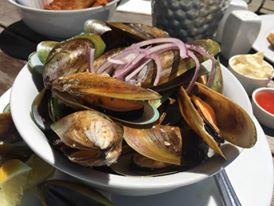 Mussels! (Photo credit: Michele's Facebook)