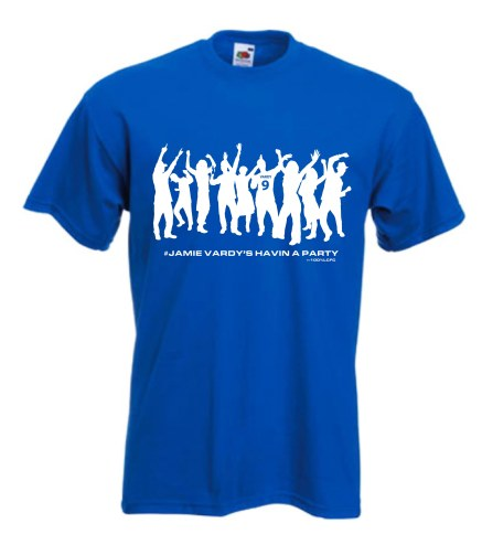 100LCFC T Shirt - Vardy Party Look Samll