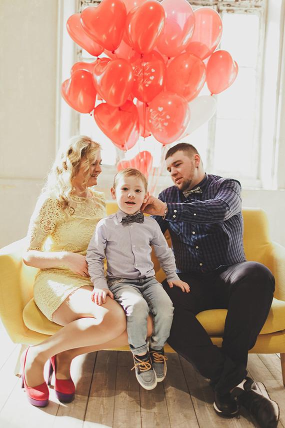 Valentines Day Family Photos Family Photography