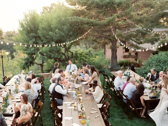 Summer Backyard Wedding Reception Wedding Amp Party Ideas