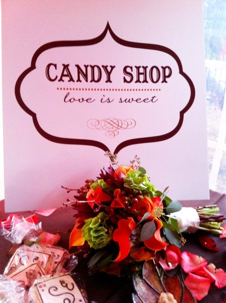 Real Weddings And Wedding Inspiration Ideas Candy Shop