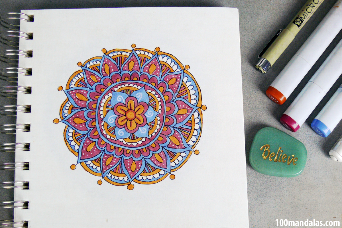 How To Draw A Mandala For Beginners