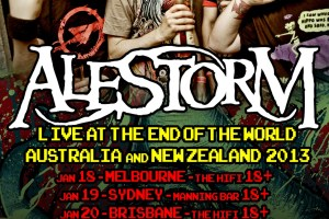AUSTRALIAN / NEW ZEALAND TOUR JANUARY 2013 – TICKETS MOVING FAST! + OFFICIAL TOUR POSTER UNLEASHED!