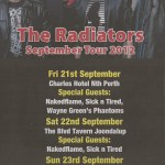 Starr Special Events presents THE RADIATORS with THE SICK & TIRED