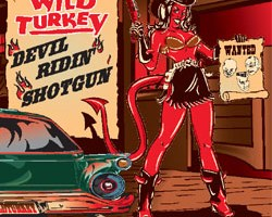 WILD TURKEY – Devil Ridin' Shotgun