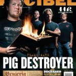 PIG DESTROYER New Song Streaming; Grace the Cover of November's Decibel Magazine