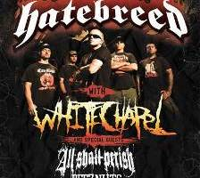 "HATEBREED Finish Tracking New Album and Embark on ""10 Years of Perseverance"" Tour"