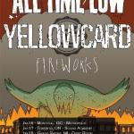 ALL TIME LOW and YELLOWCARD Announce U.S. and Canadian co-headlining tour dates