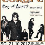 Live – Europe, Mannheim, Germany – 21 October 2012