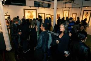 World-Renowned Surrealist VINCENT CASTIGLIA Draws Hundreds to 'Resurrection' Retrospective Art Exhibition Opening at Sacred Gallery NYC