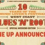 West Coast Blues & Roots Fest announces incredible lineup!