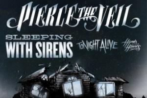 Pierce The Veil wsg Tonight Alive – Royal Oak, MI – November 8, 2012