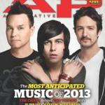 SLEEPING WITH SIRENS Featured on Cover of ALTERNATIVE PRESS Feb 2013 Issue