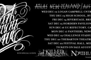"""Resist, triple j's Short.Fast.Loud and Channel V Present  Parkway Drive """"Atlas"""" Australian Tour"""