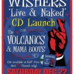 THE WISHERS LAUNCH LIVE CD THIS SATURDAY