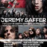 "Rock Photographer JEREMY SAFFER Teams Up with SoundCheck Hollywood for ""Capturing Music: A Music Photography Seminar"" – NEW DATES: February 9-10, 2013"