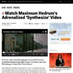 """Maximum Hedrum """"Synthesize"""" Music Video Currently Premiering At Spin"""