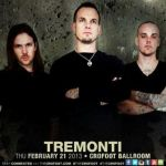 LIVE – Tremonti, Pontiac, MI, February 21, 2013