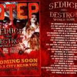 OTEP ANNOUNCES THE SEDUCE AND DESTROY TOUR