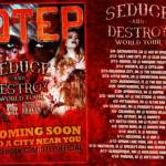 OTEP ANNOUNCES THE SEDUCE AND DESTROY TOUR