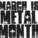 Caroline media release|| CAROLINE KICKS OFF 2013'S MARCH IS METAL MONTH