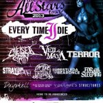 For All Those Sleeping announced on 2013 All Stars Tour